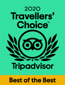 Best of the Best Trip Advisor Travellers Choice award 2020 logo