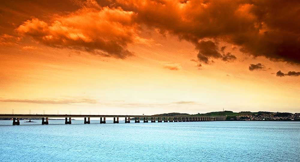 Tay Bridge Sunset
