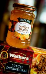 Dundee Marmalade and cake